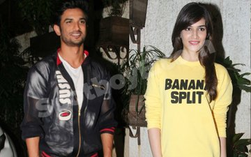 Sushant Singh Rajput's Special Gesture For Kriti Sanon!