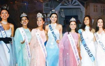 Beauty Queens Aishwarya Rai Bachchan, Sushmita Sen, Priyanka Chopra, Lara, Diana, Yukta, Dia Mirza Posing For A Throwback Pic Is Pure Gold