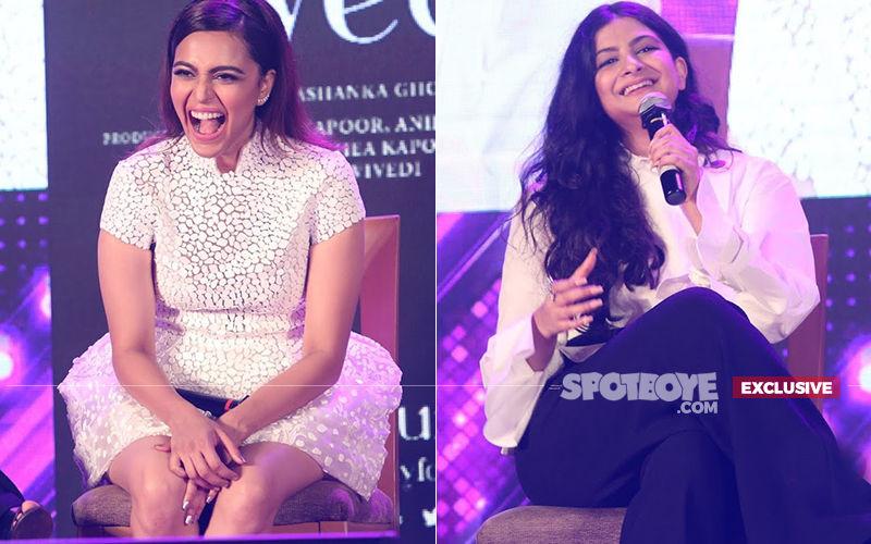 What Did Swara Bhasker Message Rhea Kapoor After Shooting The Masturbation Scene?