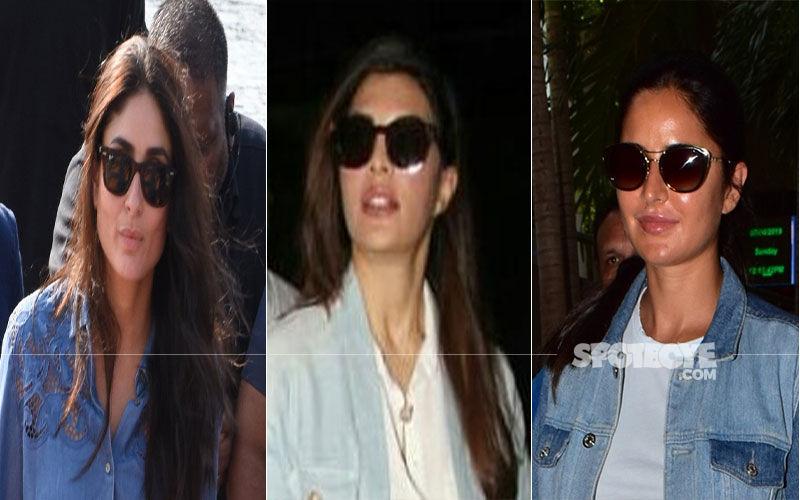 Will You Follow Kareena Kapoor, Katrina Kaif And Jacqueline Fernandez And Wear Denim On Denim?