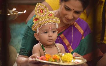 Tujhse Hai Raabta: Baby Moksh Looks Every Bit Adorable In Lord Krishna's Avatar, As The Cast Celebrates Janmashtami – View Pictures