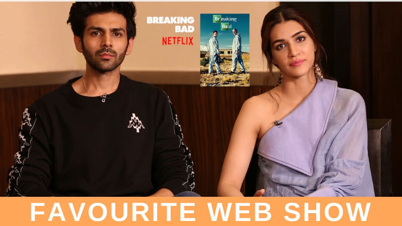 JUST BINGE: Luka Chuppi Actors Kartik Aaryan And Kriti Sanon Spill The Beans On Their Favourite Web Shows