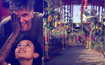 PICS: Milind Soman & Ankita Konwar's Wedding Preparations In Full Swing At Alibaug
