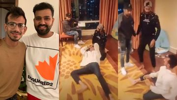 Rohit Sharma, Yuzvendra Chahal, Khaleel Ahmed Recreate An Epic Bollywood Scene; This Is TikTok Gold Guys - VIDEO