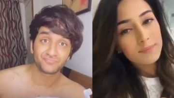 Vikas Gupta Does A 'Cheesy' TikTok Duet With Erica Fernandes To Celebrate Her Belated Birthday; We Smell Chemistry - VIDEO