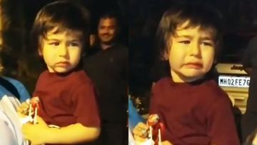 Taimur Ali Khan Exits X-Mas Party In Tears, Babysitter Consoles Chote Nawab As He Says, 'She's Not Coming' – VIDEO