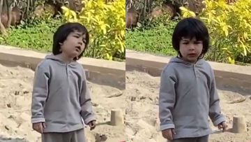 Children's Day 2019: Taimur Ali Khan Is One Stubborn Kid As He Says 'I Will Not Do It' And We Wonder Why – VIDEO