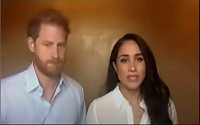 Meghan Markle And Prince Harry Mourn Grandfather Prince Philip's Demise; The Couple Writes A Short Message In His Honour