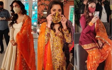 Shraddha Arya, Reem Shaikh, Kanika Mann And Others Mix Style With Safety As The Opt For Designer Masks