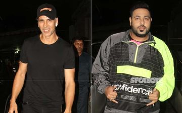 Akshay Kumar, Badshah And Few More Celebs Grace The Screening Of Khandaani Shafakhana
