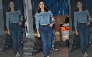 Sunny Leone's Denim-On-Denim Look Is Our Hot Summer Favourite