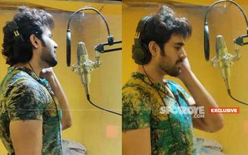 After Peerh Meri Pearl V Puri To Mesmerize His Fans Once Again With His New Single; EXCLUSIVE PICTURES From Recording Studio