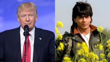 WHOA, Shah Rukh Khan's DDLJ Finds A Special Mention In Donald Trump's Speech At Gujarat's Motera Stadium – VIDEO