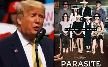 Donald Trump Disses Parasite's Oscar Win, Film Distributor Trolls Back 'Understandable, He Can't Read'