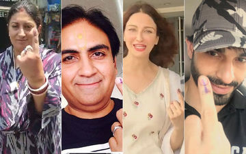 Lok Sabha Elections, 2019: Smriti Irani, Dilip Joshi, Saumya Tandon, Vijendra Kumar Bhadouria Exercise Their Right To Vote, View Pics
