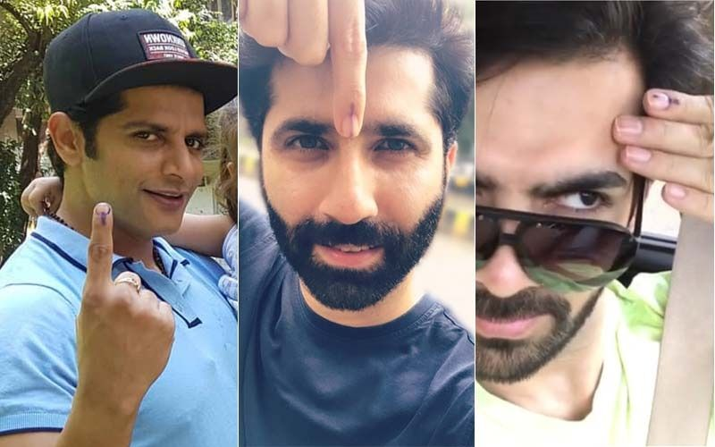 Maharashtra Assembly Elections 2019: TV Stars Sumit Kaul, Karan V Grover And Others Proudly Flaunt Their Inked Fingers