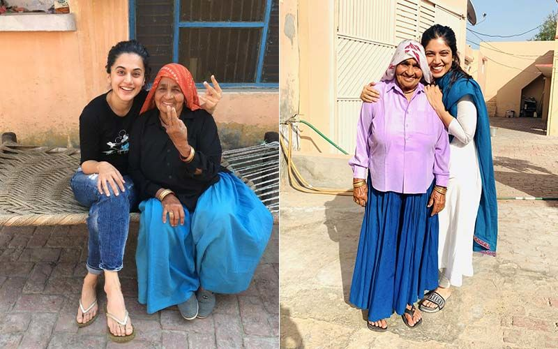 Taapsee Pannu Recalls Her Last Meeting With 'Shooter Dadi' Chandro Tomar; Bhumi Pednekar Says, 'It Feels Like A Very Big Personal Loss'