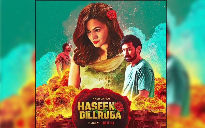 Haseen Dillruba: Taapsee Pannu Treats Fans With A New Poster Of Her Upcoming Thriller Co-starring Vikrant Massey And Harshvardhan Rane And It Will Leave You Excited