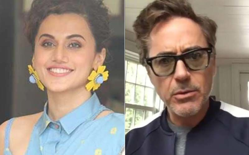 Taapsee Pannu Reveals She Once DM'd Robert Downey Jr But Received No Response; Find Out What She Had Messaged Him About HERE