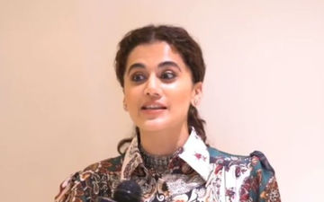 Taapsee Pannu Is Badass Goals, Gives Befitting Reply To A Man Asking Her To Talk In Hindi