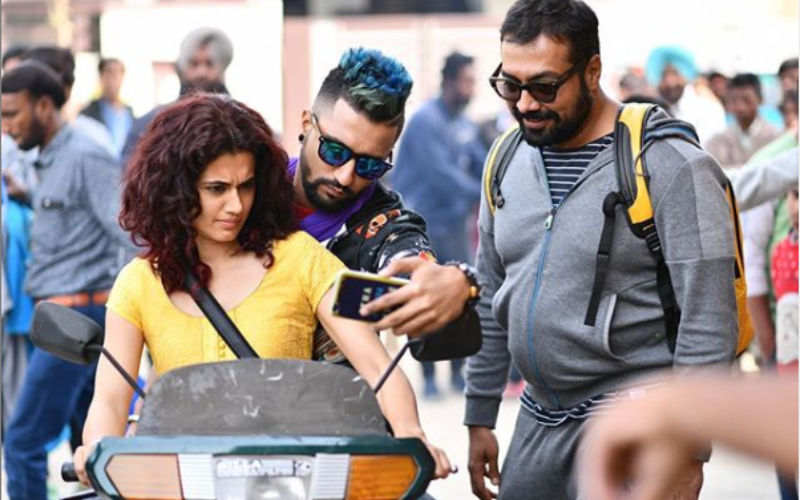 Vicky Kaushal And Anurag Kashyap Have Funny Things To Say About Taapsee Pannu's Throwback Pic