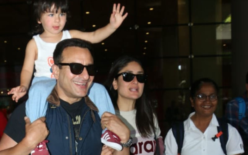 Happy Birthday Taimur Ali Khan: Did Tim's Nanny Briefly Switch Sides To Babysit Shahid Kapoor's kids?