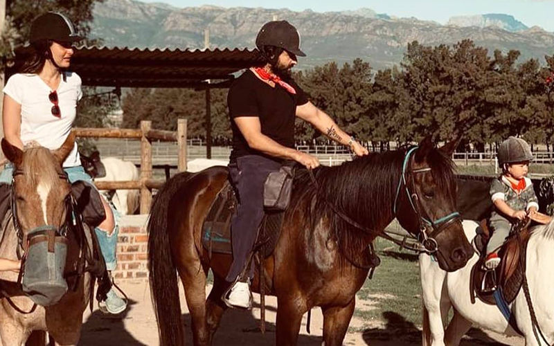 Kareena Kapoor Khan's Horse Riding Time With Taimur And Saif Ali Khan