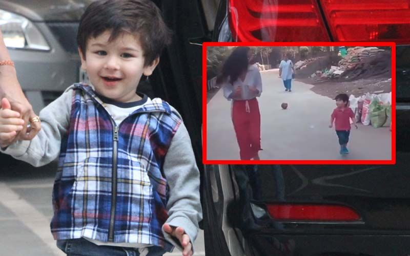 Taimur Ali Khan Races With Kiara Advani And Guess Who Lost? - Watch Video