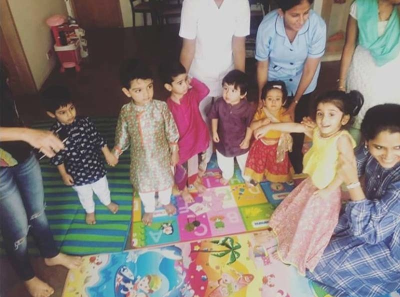 Taimur Inaaya And Laksshya Enjoyed A Dandiya Bash Together