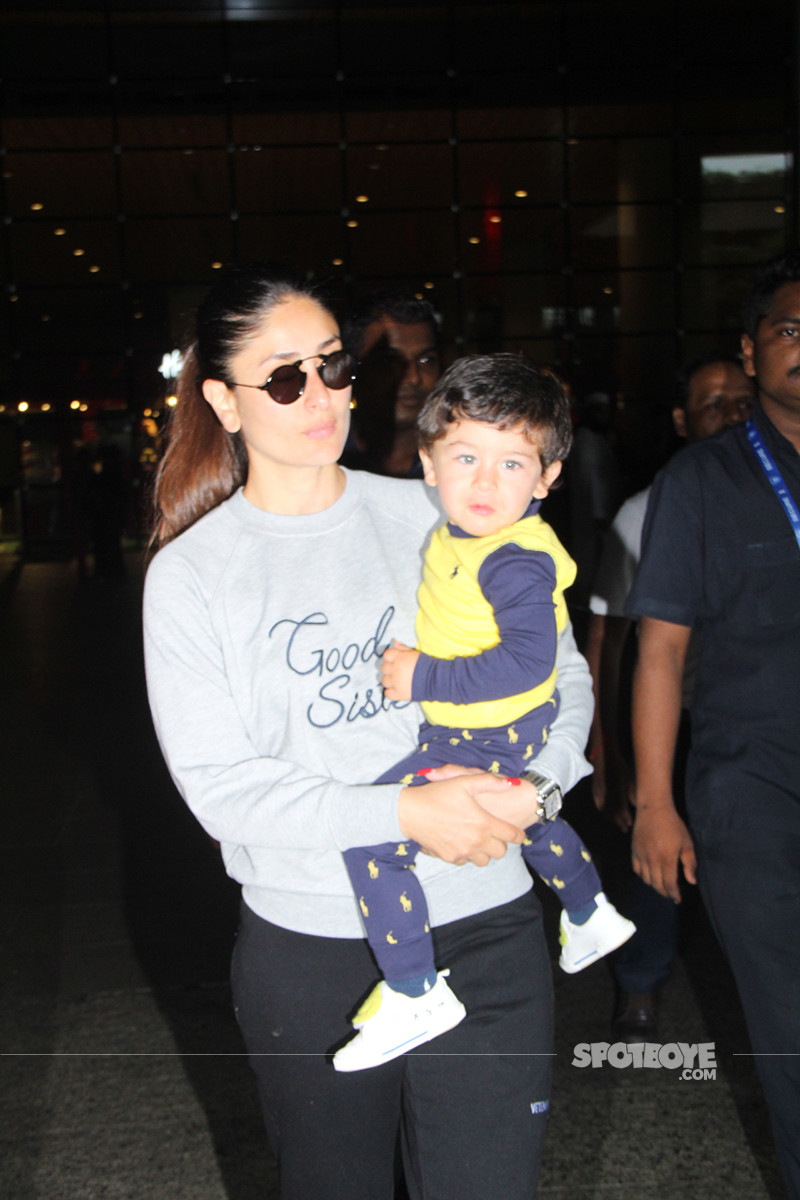 Taimur Stares At The Photogs
