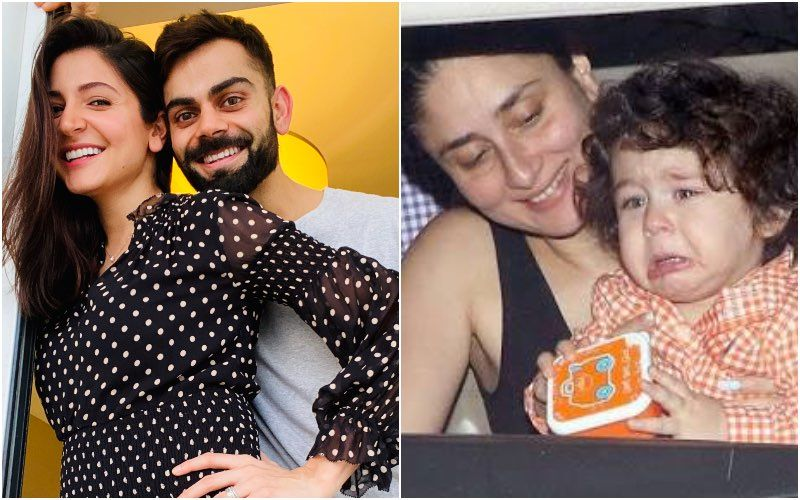 After Anushka Sharma And Virat Kohli Announce Pregnancy; Netizens Unleash A Bunch Of Crazy Memes On 'Taimur's Competitor'