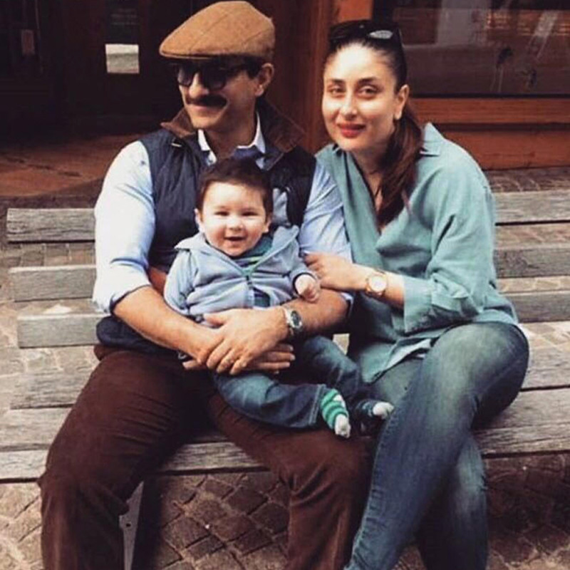Taimur s Pic With His Parents