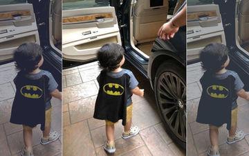 This Picture Is Old But Guess Which Star Kid Is This- Misha, AbRam Or Taimur?