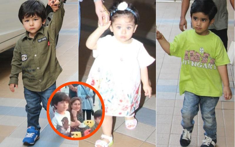 मम्मी करीना कपूर खान का हाथ पकड़ें नन्हें तैमुर अली खान अटेंड करने पहुचें बर्थडे पार्टी. देखिए वीडियो