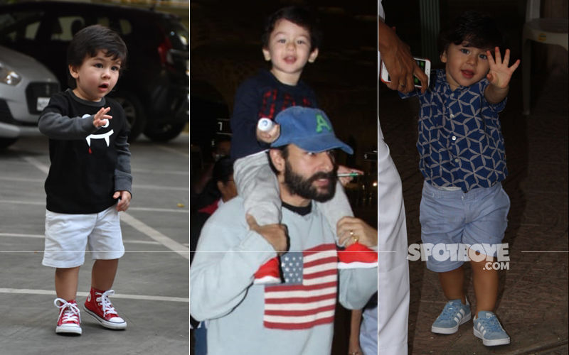 Happy Birthday Taimur: Priceless Moments Of The Li'l One That Left Shutterbugs Wanting For More