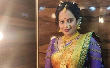 Decoding Smita Tambe's Antagonist Look In Her Upcoming TV Show Ladachi Lek Ga