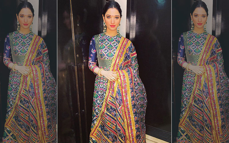 Tamannaah Bhatia's New-Age Gota Anarkali Is So Gorgeous, We Are Just Aww...