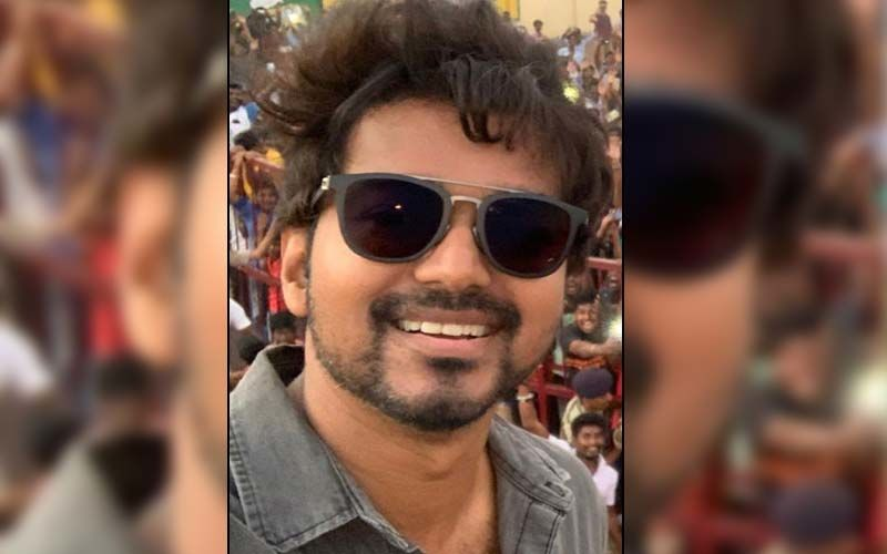 Thalapathy 65: Vijay Kick-Starts The Shoot Of His Film In Georgia; Makers Treat Fans With A Candid Picture Of The Actor From The Sets