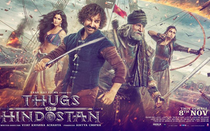 ठग्स ऑफ हिंदोस्तान का पोस्टर हुआ रिलीज, आमिर ने कहा- सपना हुआ पूरा