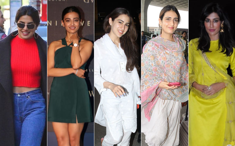 STUNNER OR BUMMER: Priyanka Chopra, Radhika Apte, Sara Ali Khan, Fatima Sana Shaikh Or Chitrangda Singh?