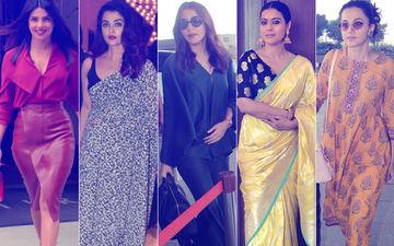 STUNNER OR BUMMER: Priyanka Chopra, Aishwarya Rai Bachchan, Anushka Sharma, Kajol Or Taapsee Pannu?