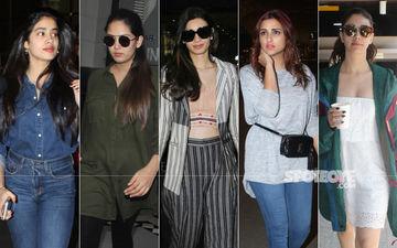 STUNNER OR BUMMER: Janhvi Kapoor, Mira Rajput, Diana Penty, Parineeti Chopra Or Warina Hussain?