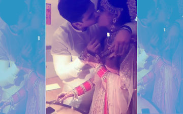 Prince Narula And Yuvika Chaudhary's First Kiss After Marriage; Watch Video