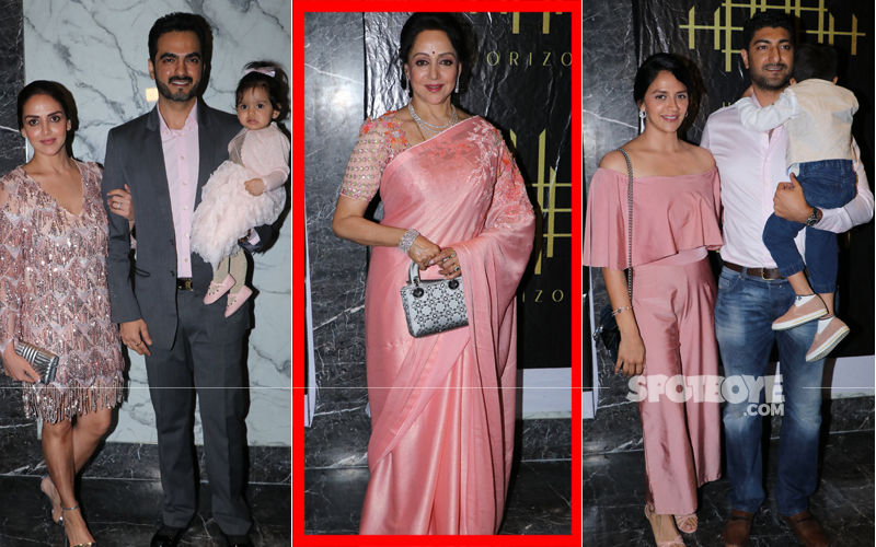 9 Pics From Hema Malini's 70TH Birthday Dinner That Cannot Be Missed!