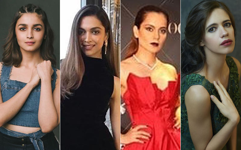 Alia Bhatt, Deepika Padukone, Kangana Ranaut, Kalki Koechlin - Actresses Who Are Vocal About Mental Health