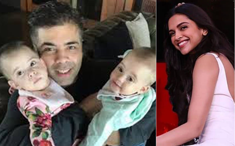 Deepika Padukone Was Karan Johar's Confidante Regarding His Kids?
