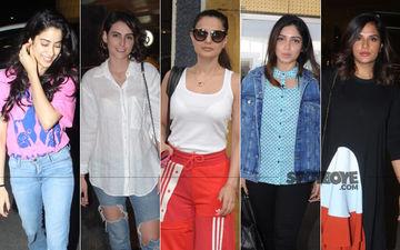 STUNNER OR BUMMER: Janhvi Kapoor, Mandana Karimi, Ameesha Patel, Bhumi Pednekar Or Richa Chadha?