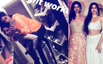 Khushi And Janhvi Kapoor's Midnight Workout Video Is Breaking The Internet