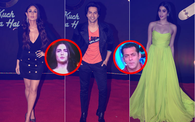 Kuch Kuch Hota Hai 20 Years: Kareena Kapoor Khan, Alia Bhatt, Salman Khan, Janhvi Kapoor, Varun Dhawan Add Glamour To The Big Nite