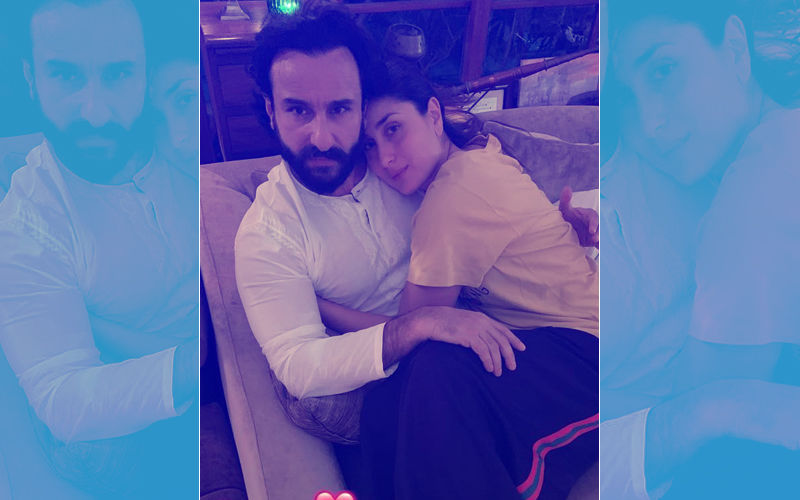 Kareena Kapoor Khan's Picture Snuggling With Hubby Saif Goes Viral On Their 6TH Wedding Anniversary